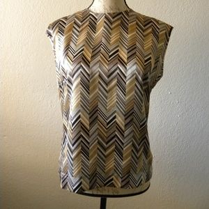 Collection Harve Bernard Blouse Size 6 Shiny